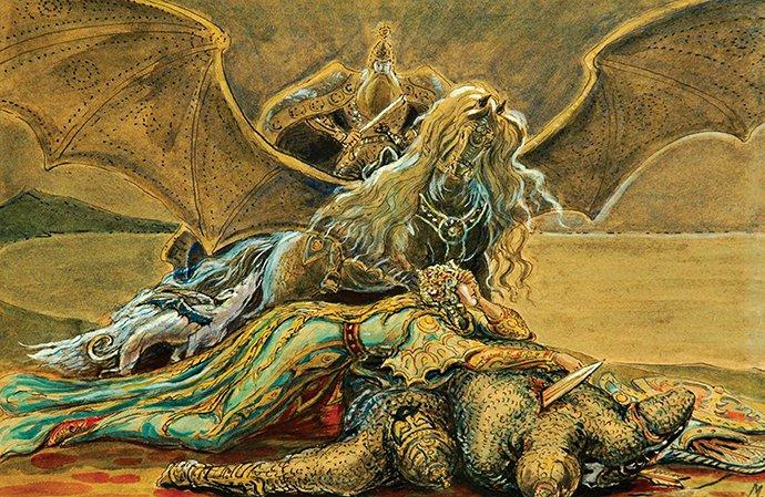 Туганты М. С. Дзерасса - водная нимфа, прародительница славного рода Ахсартаггата, мать царицы нартов Шатаны, которая соотносится с звездой Сириус