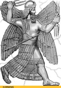 Мардук - главный бог Вавилона, победитель хтонических существ