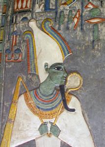 Осирис (Уас Ир) - верховный бог Египта, персонификация созвездия Сириус