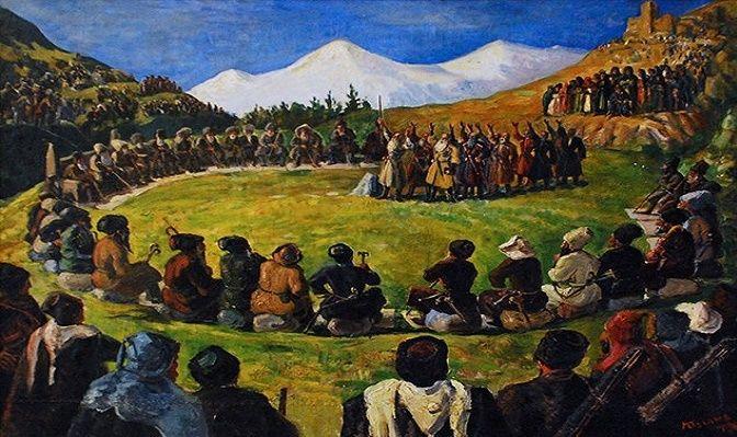М. С. Туганов. Народный суд, 1946 г.